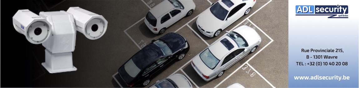 Caméra thermique sur votre parking : restez cool !