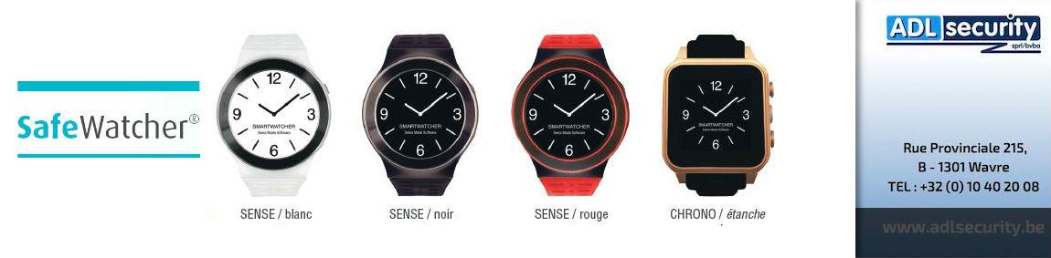Safe Watcher : la montre bracelet qui peut vous sauver la vie