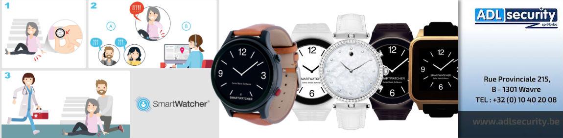ADL Security présente la montre de secours SmartWatcher.